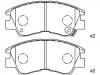 刹车片 Brake Pad Set:MB 500 812