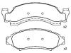 刹车片 Brake Pad Set:D6TZ-2001-D